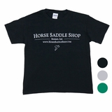 Kid's Horse Saddle Shop T-Shirt