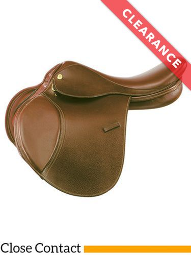 "15"" Kincade Child's Leather Close Contact Saddle 746003, CLEARANCE"