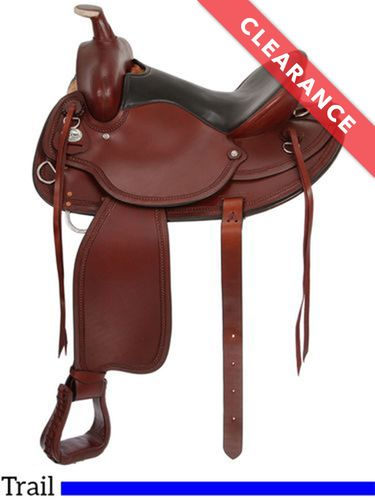 """17.5"""" King Series Wolverine Wide Tree Saddle 78, CLEARANCE"""