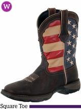 Women's Durango Rebel Patriotic Pull-On Western Boots RD4414