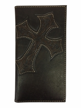 Leather Cross Rodeo Wallet 5487044