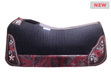 "LIMITED EDITION! 5 Star ""Red Rising"" Saddle Pad Standard or Barrel *free gift*"