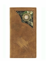 Nocona Youth Rodeo Distressed Brown Wallet n5423644