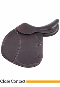 M.Toulouse Patrice Platinum Close Contact Saddle w/ Genesis Tree 9101