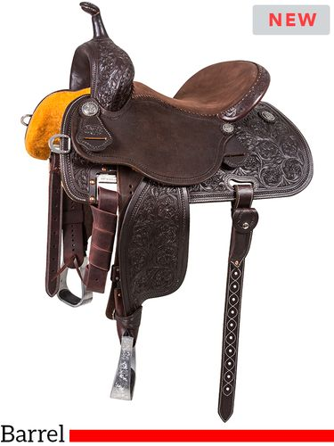 "12.5"" to 15.5"" Martin Saddlery Sherry Cervi Stingray Barrel Racer 71-C1"