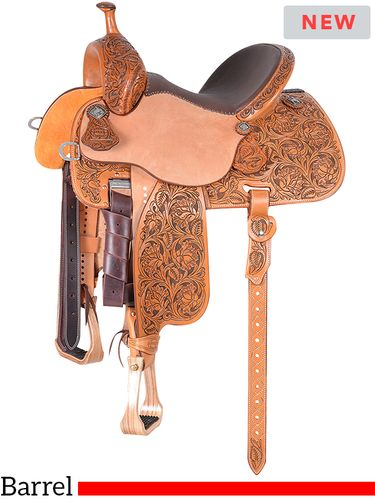 "12.5"" to 15.5"" Martin Saddlery Sherry Cervi Stingray Barrel Racer 71-C3"