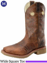 Men's Double-H ICE� Earthquake Rust Roper Boots DH5134