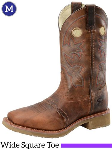 Men's Double-H ICE™ Earthquake Rust Roper Boots DH5134