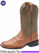 Men's Double-H Leather Roper Boots DH3571