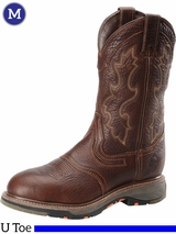 Men's Double-H Tumbled Briar Roper Boots DH5133