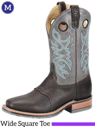 Men's Double-H ICE™ Cool Grey Roper Boots DH3575