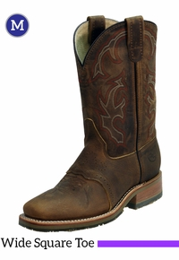 Men's Double-H ICE� Old Town Folklore Roper Boots DH3560