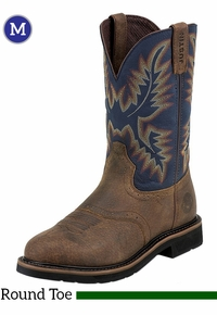 Men's Justin Copper Kettle Rowdy Stampede Boots WK4665