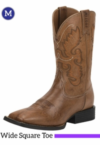 Men's Justin Hinton Brown Farm & Ranch Boots JB1113 ZDS