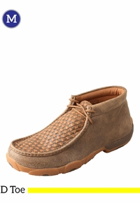 Men's Twisted X Bomber/Tan Driving Moccasins MDM0033