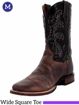 Men's Dan Post Franklin Cowboy Certified Sand and Black Boots DP2815