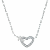 Montana Silversmiths Heart of Faith Necklace NC3203