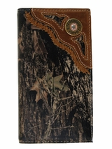 Nocona Camouflage Rodeo Wallet/Checkbook Cover N54440222