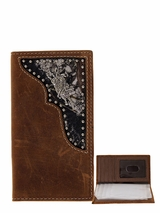 Nocona Distressed Brown Bull Rider Youth Rodeo Wallet N5424044