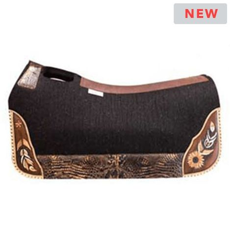 """LIMITED EDITION! 5 Star """"Wild & Free"""" Saddle Pad Standard or Barrel *free gift*"""