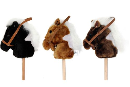 Plush Rodeo Toy Stick Horses 50538