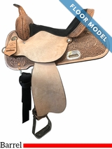 """SOLD 2018PRICE REDUCED! 15"""" High Horse by Circle Y The Proven Mansfield Wide Barrel Saddle 6221, Floor Model"""
