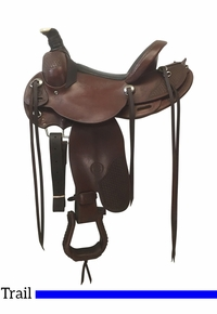 PRICE REDUCED! 15 Inch Used Colorado LR Special Trail Saddle 300-5341 *Free Shipping*