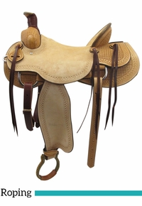 "PRICE REDUCED! 16"" American Texas Best Buckaroo Ranch Saddle 655"