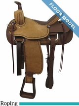 "PRICE REDUCED! 16"" Big Horn Ladies Choice Cow Girl Saddle 962, Floor Model"