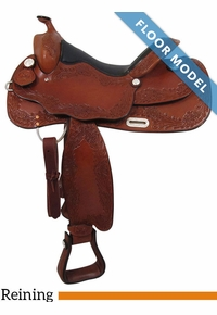 "PRICE REDUCED! 16"" Big Horn Supreme Reiner Saddle 889, Floor Model"