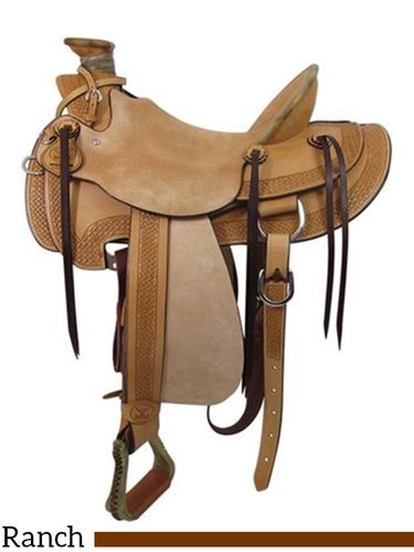 "15"" Big Horn Wade Ranch Trail Saddle 867"