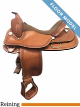 "SOLD 2018/06/19  PRICE REDUCED! 16"" Circle Y Fargo Wide Reining Saddle 2663, Floor Model"