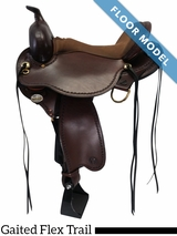 "PRICE REDUCED! 16"" Circle Y 1589 Missouri Gaited Flex Trail, Floor Model"