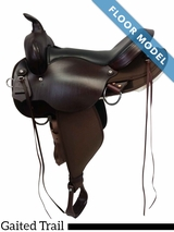 """SOLD 2018/09/04  PRICE REDUCED! 17"""" High Horse Gaited Trail El Campo 6970 ushh4218, Floor Model"""