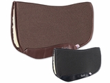 "Professional's Choice Charmayne James SMx Air Ride Barrel Saddle Pad ARSB Fleece Bottom 28""L x 30""D"
