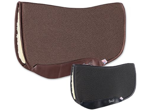 "Professional's Choice Charmayne James SMx Air Ride Orthosport Barrel Saddle Pad ARSB Fleece Bottom 28""L x 30""D"