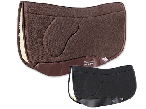 "Professional's Choice Charmayne James SMx Air Ride Orthosport Barrel Saddle Pad ARSBS Fleece Bottom 28"" x 30"""