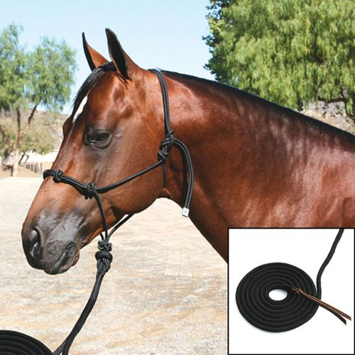 Professional's Choice Clinician Halter with 15 Foot Lead HRC