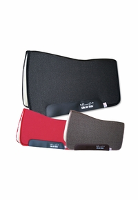 "Professional's Choice SMx Air Ride Orthosport Western All Around Saddle Pad ARAA Fleece Bottom 30""L x 32""D"