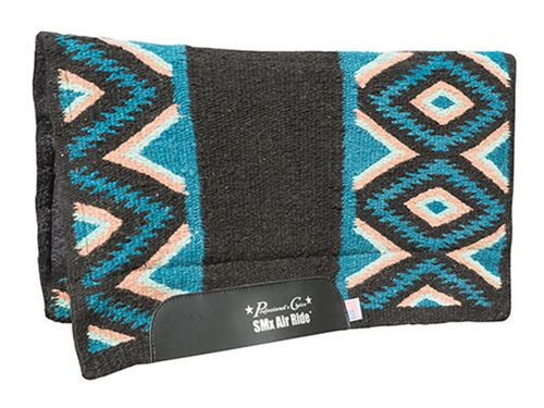 "Professionals Choice Comfort-Fit SMx Orthosport 1/2"" Air Ride Saddle Wool Pad: El Dorado CXE-30"
