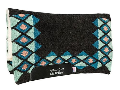 "Professionals Choice Comfort-Fit SMx Orthosport 1/2"" Air Ride Saddle Wool Pad: Quest CXQ-30"