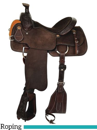 "14"" to 17"" Reinsman Lipan Roping Saddle 4421 w/Free Pad"