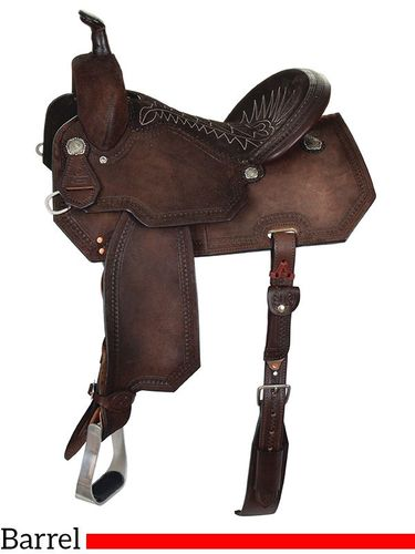 "13"" to 16"" Reinsman Charmayne James Barrel Racer Saddle 4291 w/Free Pad"