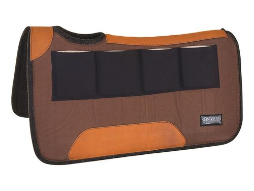 Reinsman Multi-Fit 4 Ranch Pro Square Contour Wool Pad 34582