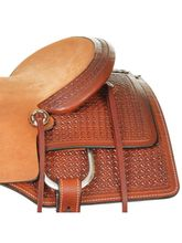 "15"" to 17"" Reinsman Ranch Cutting Saddle 4830 w/Free Pad"