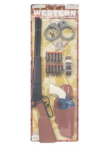 Western Air Rifle Sheriff Set with Safety Darts 50576