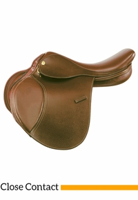 "14"" to 16"" Kincade Child's Leather Close Contact Saddle 746002"