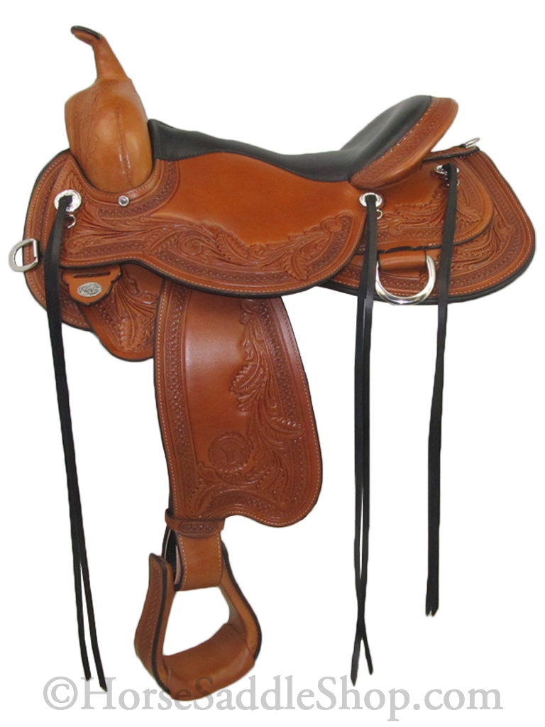 Circle Y Julie Goodnight Monarch Saddle 1752 w/Free Pad