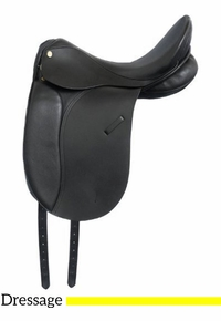"16.5"" to 17.5"" Kincade Leather Dressage Saddle 746052"