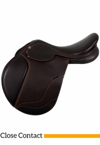 "17.5"" Collegiate Convertible Diploma Close Contact Saddle 595516"